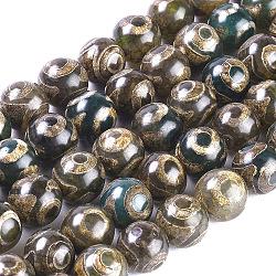 Gemstone Barrel Beads DIY Jewelry 10x30 mm Drum Gemstone Beads 1 Full Strand Tibetan Eye Dzi Beads Tibetan Agate Rice Beads Wholesale
