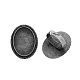 Vintage Adjustable Iron Finger Ring Components Alloy Cabochon Bezel Settings(X-PALLOY-Q300-04AS-NR)-1