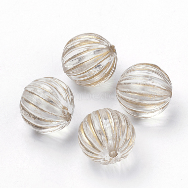 10mm Clear Round Acrylic Beads