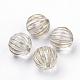 Plating Transparent Acrylic Beads(X-PACR-Q115-60-10mm)-1