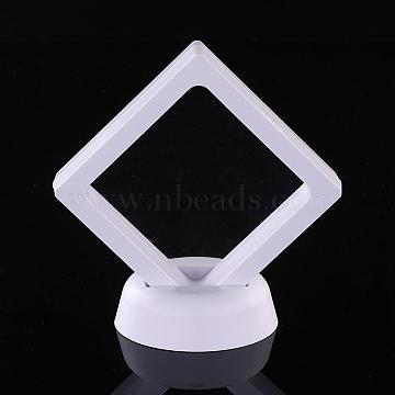 White Plastic Bracelet Display