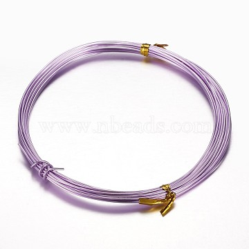 1mm Lilac Aluminum Wire