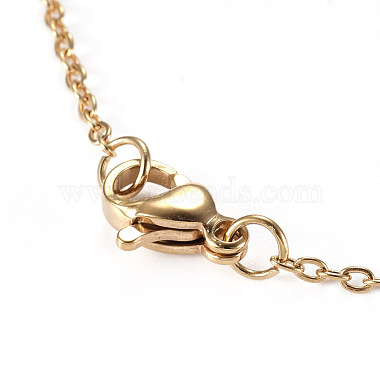 304 Stainless Steel Pendant Necklaces(NJEW-I237-07G)-4