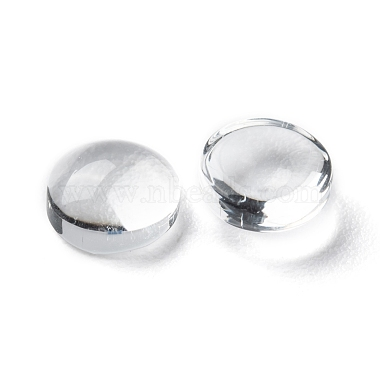 Transparent Glass Cabochons(X-GGLA-R026-6mm)-3
