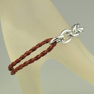 Fashion Braided Bracelets(X-BJEW-JB00848-09)-2