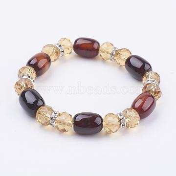 Colorful Natural Agate Bracelets