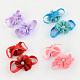 Elastic Baby Cloth Flower Foot Bands(OHAR-R109-M)-1