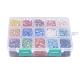 15 Colors Pearlized Plated Handmade Porcelain Cabochons(PORC-JP0001-02-A)-3