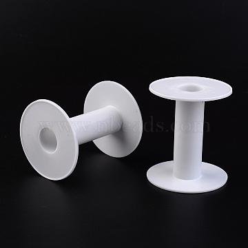 White Plastic Spools