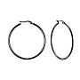Anneau Acier Inoxydable Boucles D'oreilles(X-EJEW-F105-06B)