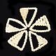 Handmade Reed Cane/Rattan Woven Pendants(WOVE-T006-141A)-1