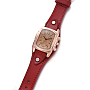 DarkRed Alloy Quartz Watch(WACH-I017-10E)