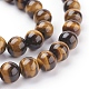 Natural Tiger Eye Beads Strands(G-G099-8mm-4)-3