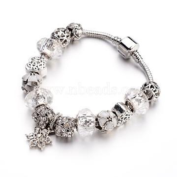 Clear Brass Bracelets