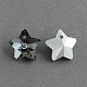 Star Electroplated Glass Pendants(EGLA-R084-02)-1