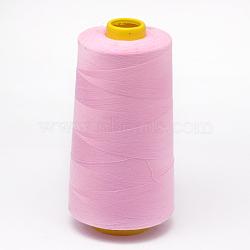 100% polyester filé fil à coudre de fibres, prune, 0.1 mm; sur 5000 mètres / rouleau(OCOR-O004-A17)