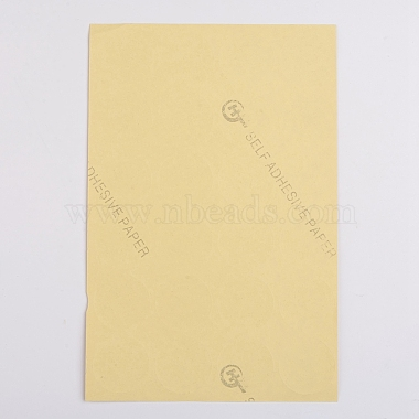 Self-Adhesive Kraft Paper Gift Tag Stickers(DIY-D028-01A-01)-2