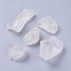 природный кристалл кварца бусины, самородки, нет отверстий / незавершенного, 15~72x15~39x13~32.5 мм; о 100 г / мешок