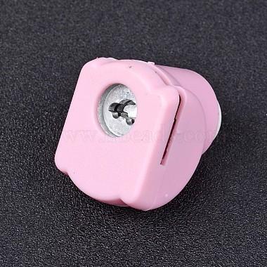 Random Single Color or Random Mixed Color Mini Plastic Craft Punch Sets for Scrapbooking & Paper Crafts(AJEW-L051-02)-2