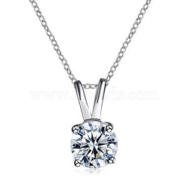 Trendy Brass Pendant Necklaces(NJEW-BB33852)-1