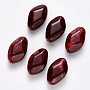29mm DarkRed Rhombus Acrylic Beads(OACR-R075-03H)