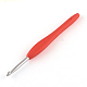 Aluminum Crochet Hooks with Rubber Handle Covered(TOOL-R094)-2