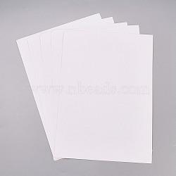 Autocollants en papier kraft, étiquettes auto-adhésives a4 pour impression jet d'encre laser, blanc, 29.5x21 cm(X-AJEW-WH0055-03)