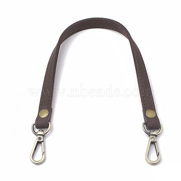 SaddleBrown Imitation Leather Bag Handles
