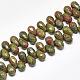 Natural Unakite Beads Strands(G-S357-C01-04)-1