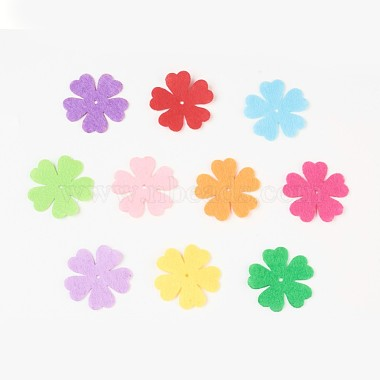 Clover Non Woven Fabric Embroidery Needle Felt for DIY Crafts(X-DIY-WH0078-01)-1