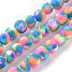 Chapelets de perle en pâte polymère manuel(X-CLAY-Q230-25)-1