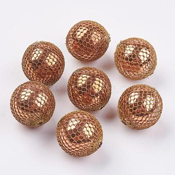 23mm Round Brass Beads