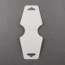 Collier blanc bijoux affiche cartes, 124x47.5mm(X-NDIS-ZX002)