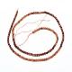 Natural Orange Garnet Beads Strands(G-G823-11-3.5mm)-2