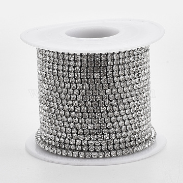 Stainless Steel+Rhinestone Rhinestone Chains Chain