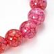 Veines de dragon naturelles agate perles bracelets extensibles(X-BJEW-Q692-02B)-2