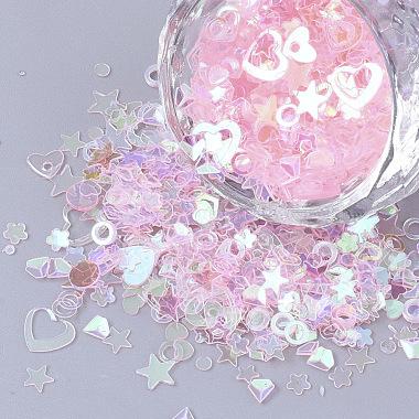 Pink Plastic Beads