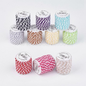 1mm Mixed Color Cotton Thread & Cord