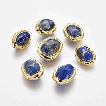 17mm Oval Lapis Lazuli Beads