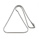 304 Stainless Steel Coreana Chain Necklaces(NJEW-I074-17)-2