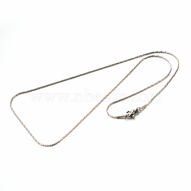 304 Stainless Steel Coreana Chain Necklaces(STAS-M174-021P)-2