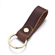 Cowhide Leather Keychain(KEYC-WH0014-A02)-1