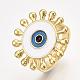 Adjustable Brass Finger Rings(RJEW-S044-056B)-1