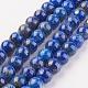 Natural Lapis Lazuli Beads Strands(G-G099-8mm-7B)-1