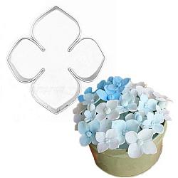 304 emporte-pièces en acier inoxydable, moules à biscuits, outil de cuisson biscuit, fleur, couleur inox, 39x45x19 mm(DIY-E012-77)