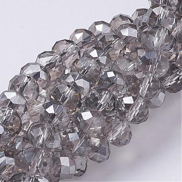 bracelet beads approximately 70 beads per strand off white beads 4mm luster beads jewelry making beads 6mm 8mm faceted glass beads