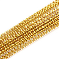 Iron Wire, Goldenrod, 22 Gauge, 0.6mm; 60cm/strand; 50strand/bag(MW-S002-02D-0.6mm)