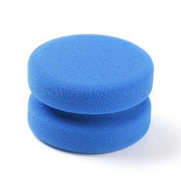 Car Polishing Sponge Pads, Car Maintenance Tool, for Car Sanding, Polishing, Waxing, Sealing Glaze, Dodger Blue, 80x49mm(X-MRMJ-WH0059-63)