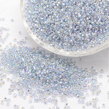 4mm AliceBlue Glass Beads