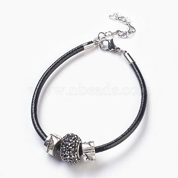 Black Resin Bracelets